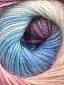 Fiber Content 57% Premium Acrylic, 3% Metallic Lurex, 20% Mohair, 20% Wool, White, Pink, Lilac, Brand ICE, Blue, Yarn Thickness 2 Fine  Sport, Baby, fnt2-50326