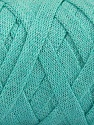 Состав пряжи 70% Recycled Cotton, 30% Металлический люрекс, Mint Green, Brand Ice Yarns, Yarn Thickness 6 SuperBulky  Bulky, Roving, fnt2-50528