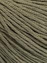 Fiber Content 60% Bamboo, 40% Cotton, Khaki, Brand ICE, Yarn Thickness 3 Light  DK, Light, Worsted, fnt2-50541