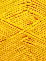 Fiber Content 100% Cotton, Yellow, Brand ICE, Yarn Thickness 2 Fine  Sport, Baby, fnt2-50588