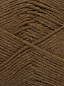 Fiber Content 100% Cotton, Brand ICE, Brown, Yarn Thickness 2 Fine  Sport, Baby, fnt2-50693