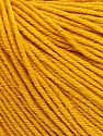Fiber Content 60% Cotton, 40% Acrylic, Brand ICE, Gold, Yarn Thickness 2 Fine  Sport, Baby, fnt2-51207