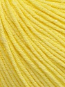 Fiber indhold 60% Bomuld, 40% Akryl, Light Yellow, Brand Ice Yarns, Yarn Thickness 2 Fine  Sport, Baby, fnt2-51232