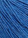 Contenido de fibra 60% Algodón, 40% Acrílico, Jeans Blue, Brand Ice Yarns, Yarn Thickness 2 Fine  Sport, Baby, fnt2-51235