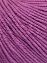 Fiber Content 60% Cotton, 40% Acrylic, Lavender, Brand ICE, Yarn Thickness 2 Fine  Sport, Baby, fnt2-51242