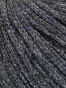Fiber Content 50% Wool, 38% Acrylic, 12% Metallic Lurex, Silver, Brand ICE, Grey, Yarn Thickness 4 Medium  Worsted, Afghan, Aran, fnt2-51370