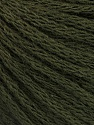 Fiber Content 50% Acrylic, 50% Wool, Brand ICE, Dark Green, Yarn Thickness 4 Medium  Worsted, Afghan, Aran, fnt2-51476