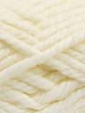 Fiber Content 55% Acrylic, 45% Wool, Light Cream, Brand ICE, Yarn Thickness 6 SuperBulky  Bulky, Roving, fnt2-51487