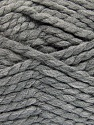 SuperBulky  Fiber Content 55% Acrylic, 45% Wool, Brand ICE, Grey, Yarn Thickness 6 SuperBulky  Bulky, Roving, fnt2-51488