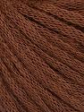Fiber Content 50% Wool, 50% Acrylic, Brand ICE, Brown, Yarn Thickness 4 Medium  Worsted, Afghan, Aran, fnt2-51495