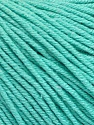 Fiber Content 60% Cotton, 40% Acrylic, Mint Green, Brand ICE, Yarn Thickness 2 Fine  Sport, Baby, fnt2-51559