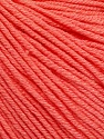 Fiber Content 60% Cotton, 40% Acrylic, Salmon, Brand ICE, Yarn Thickness 2 Fine  Sport, Baby, fnt2-51561