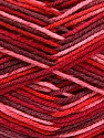 Planned Pooling The yarn is suitable for planned pooling Fasergehalt 100% Antipilling Acryl, Red, Pink, Brand Ice Yarns, Burgundy, Yarn Thickness 4 Medium  Worsted, Afghan, Aran, fnt2-51614
