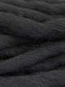 Fiber Content 100% Superwash Wool, Brand ICE, Black, Yarn Thickness 6 SuperBulky  Bulky, Roving, fnt2-51671