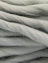 Fiber Content 100% Superwash Wool, Light Grey, Brand ICE, Yarn Thickness 6 SuperBulky  Bulky, Roving, fnt2-51672