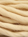 Fiber Content 100% Superwash Wool, Brand ICE, Cream, Yarn Thickness 6 SuperBulky  Bulky, Roving, fnt2-51676