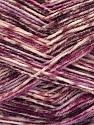 Fiber Content 75% Superwash Wool, 25% Polyamide, Purple, Lilac Shades, Brand ICE, Yarn Thickness 1 SuperFine  Sock, Fingering, Baby, fnt2-51906