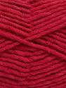 Fiber Content 100% Wool, Brand ICE, Dark Fuchsia, Yarn Thickness 5 Bulky  Chunky, Craft, Rug, fnt2-51917