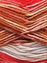 Fasergehalt 100% Antipilling Acryl, White, Red, Brand Ice Yarns, Brown, Baby Blue, Yarn Thickness 4 Medium  Worsted, Afghan, Aran, fnt2-52062