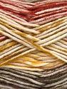 Fasergehalt 100% Antipilling Acryl, White, Olive Green, Khaki, Brand Ice Yarns, Copper, Yarn Thickness 4 Medium  Worsted, Afghan, Aran, fnt2-52065