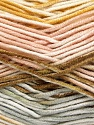 Fasergehalt 100% Antipilling Acryl, White, Powder, Light Grey, Brand Ice Yarns, Gold, Yarn Thickness 4 Medium  Worsted, Afghan, Aran, fnt2-52066