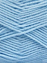 Fiber Content 100% Baby Acrylic, Brand Ice Yarns, Baby Blue, Yarn Thickness 2 Fine  Sport, Baby, fnt2-52124