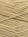 Fasergehalt 55% Schurwolle, 5% Cashmere, 40% Acryl, Brand Ice Yarns, Beige, Yarn Thickness 2 Fine  Sport, Baby, fnt2-52127