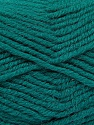 Fiber Content 50% Acrylic, 25% Wool, 25% Alpaca, Teal, Brand ICE, Yarn Thickness 5 Bulky  Chunky, Craft, Rug, fnt2-52131