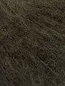 Knitted as 4 ply Fiber Content 40% Polyamide, 30% Kid Mohair, 30% Acrylic, Brand ICE, Coffee Brown, Yarn Thickness 1 SuperFine  Sock, Fingering, Baby, fnt2-52228