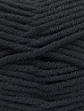 Fiber Content 80% Acrylic, 20% Polyamide, Brand ICE, Black, Yarn Thickness 5 Bulky  Chunky, Craft, Rug, fnt2-52548