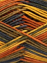 Planned Pooling The yarn is suitable for planned pooling Fasergehalt 100% Antipilling Acryl, Yellow, Orange, Navy, Khaki, Brand Ice Yarns, Yarn Thickness 4 Medium  Worsted, Afghan, Aran, fnt2-52576