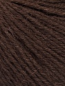 Fasergehalt 55% Baby Alpaka, 45% Superwash Extrafine Merino Wool, Brand Ice Yarns, Dark Brown, Yarn Thickness 3 Light  DK, Light, Worsted, fnt2-52761