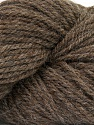 Yarn is hand sheered and all natural undyed wool. Fasergehalt 100% Natural Undyed Wool, Brand Ice Yarns, Brown, Yarn Thickness 4 Medium  Worsted, Afghan, Aran, fnt2-52772