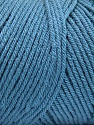 Items made with this yarn are machine washable & dryable. Состав пряжи 100% Dralon Acrylic, Jeans Blue, Brand Ice Yarns, Yarn Thickness 4 Medium  Worsted, Afghan, Aran, fnt2-52773