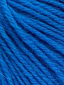 Fiber Content 100% Wool, Turquoise, Brand ICE, Yarn Thickness 4 Medium  Worsted, Afghan, Aran, fnt2-52908
