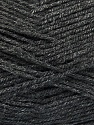Fiber Content 100% Acrylic, Brand ICE, Anthracite Black, Yarn Thickness 3 Light  DK, Light, Worsted, fnt2-52909