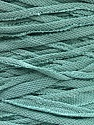 Make handbags,rugs,basket and cushion covers with this genius new-fashion yarn!<p>Since the yarn is made by upcycling fabrics, and because of the nature of the yarn; take the following notes into consideration. </p><ul><li>Width vary between 0,8 cm and 1,2 cm</li><li>Fiber content information may vary. Information given about fiber content is approximate. </li><li>The yardage and weight information of the yarn is approximate. </li></ul> Fasergehalt 95% Baumwolle, 5% Elastan, Mint Green, Brand Ice Yarns, Yarn Thickness 6 SuperBulky  Bulky, Roving, fnt2-52927