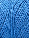 Items made with this yarn are machine washable & dryable. Состав пряжи 100% Dralon Acrylic, Brand Ice Yarns, Blue, Yarn Thickness 4 Medium  Worsted, Afghan, Aran, fnt2-52950