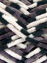 Состав пряжи 100% Микро-волокна, White, Brand Ice Yarns, Grey, Black, Yarn Thickness 4 Medium  Worsted, Afghan, Aran, fnt2-53108