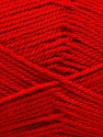 Fiber Content 100% Acrylic, Red, Brand ICE, Yarn Thickness 2 Fine  Sport, Baby, fnt2-53165