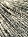 Fasergehalt 64% Baumwolle, 22% Alpaca Superfine, 14% Wolle, Brand Ice Yarns, Grey, Cream, fnt2-53308