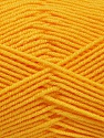 Fiber indhold 50% Akryl, 50% Bambus, Yellow, Brand Ice Yarns, fnt2-53331