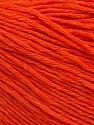 Fiber Content 100% Cotton, Orange, Brand ICE, Yarn Thickness 1 SuperFine  Sock, Fingering, Baby, fnt2-53345