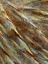 Fasergehalt 40% Wolle, 40% Acryl, 20% Alpaka, Turquoise, Brand Ice Yarns, Green, Brown Shades, Black, fnt2-53453