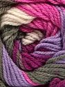 Vezelgehalte 100% Premium acryl, White, Purple, Pink, Lilac, Brand Ice Yarns, Grey, fnt2-53519