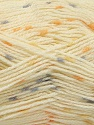 Fiber Content 100% Acrylic, Yellow, Orange, Brand Ice Yarns, Grey, Cream, fnt2-53525