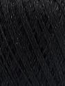 Состав пряжи 75% Полиэстер, 25% Люрекс, Brand Ice Yarns, Black, fnt2-53543