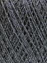 Fasergehalt 75% Polyester, 25% Lurex, Brand Ice Yarns, Grey, fnt2-53545