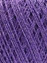 Fasergehalt 75% Polyester, 25% Lurex, Lilac, Brand Ice Yarns, fnt2-53550