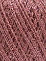 Fasergehalt 75% Polyester, 25% Lurex, Rose Pink, Brand Ice Yarns, fnt2-53551